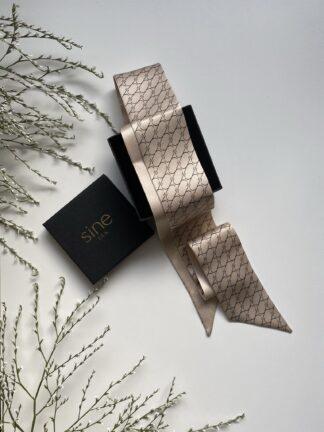 krawacik jedwabny